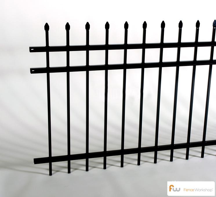 echelon II 3 rail classic style fence
