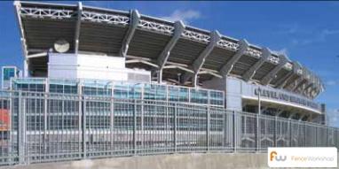 Aegis II Stadium Fence; Industrial fencing