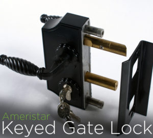 Ameristar Keyed Gate Lock