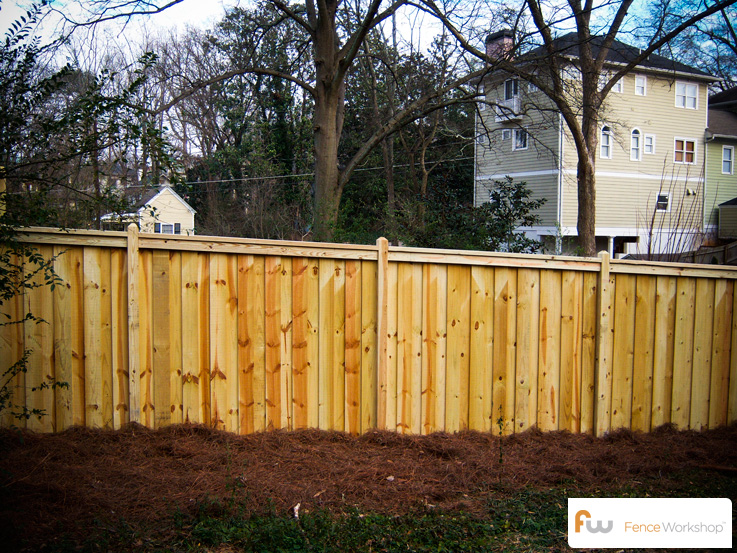 how to build a pressure treated wood gate
