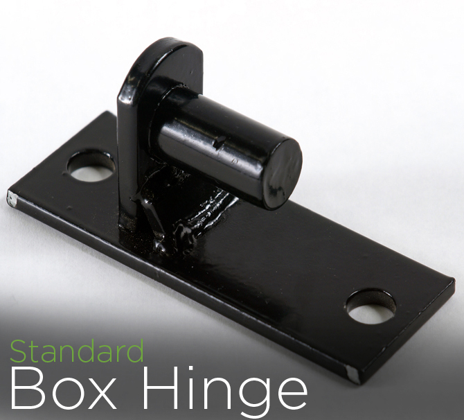 montage majestic style fence box hinges