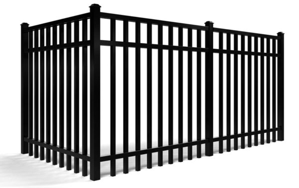 Aluminum Smooth Top Fence Kits