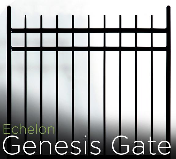 echelon genesis aluminum walk gate
