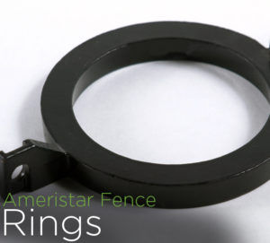 echelon II fence accessories rings