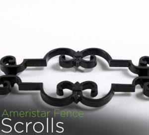 echelon II fence accessories scrolls