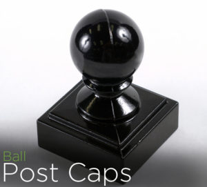 echelon II fence accessories metal post caps