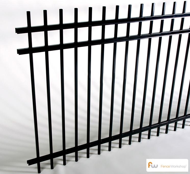 Montage 3 Rail Genesis Steel Fence