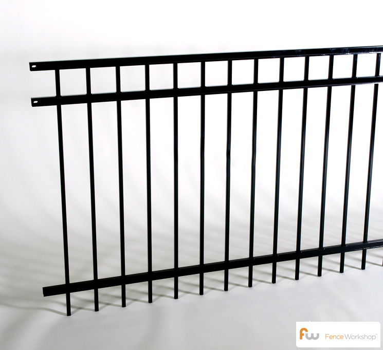 Montage 3 Rail Majestic Steel Fencing