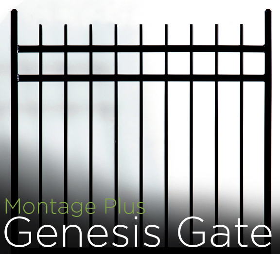 montage plus 3 rail genesis walk gates