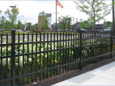 Montage II Industrial and Commercial Fence Installation
