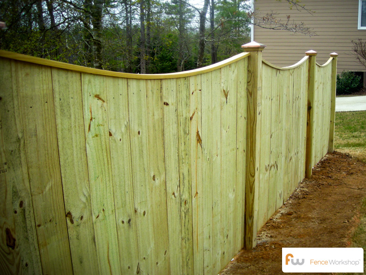 The Oglethorpe Wood Privacy Fence