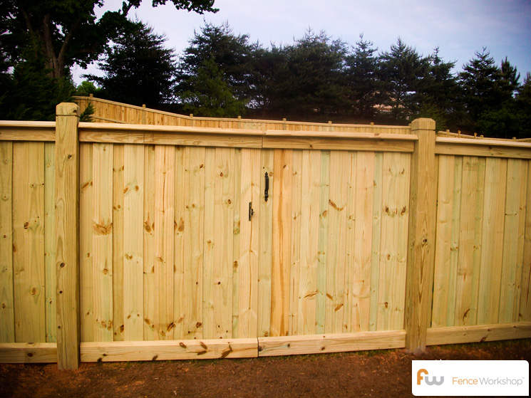 The spartan fence workshop for Diy fence gate designs