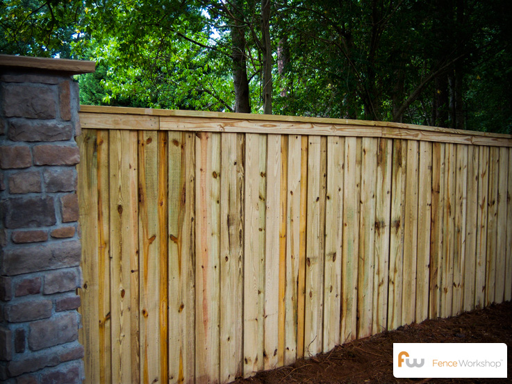 the tillman wood privacy fence