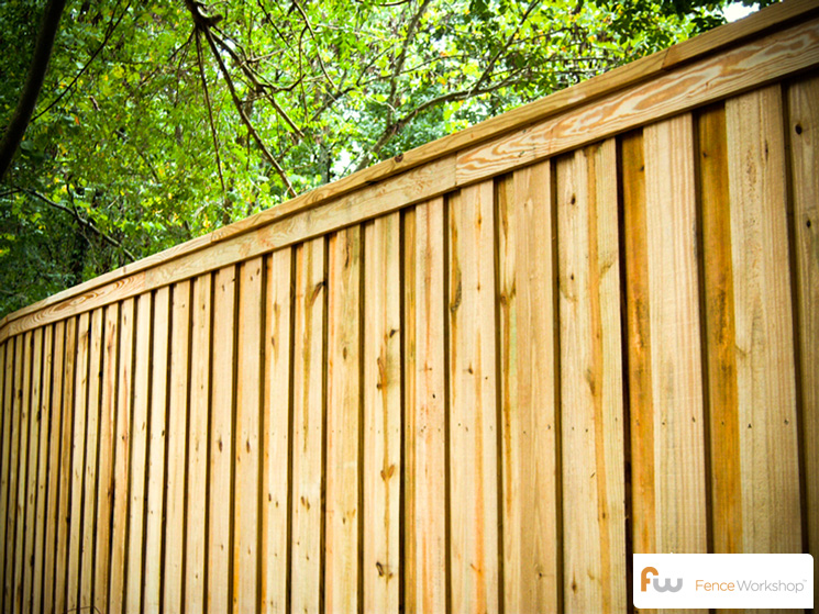 Genial The Tillman Wood Privacy Fence