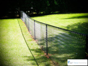 Black Chain Link Fence Atlanta