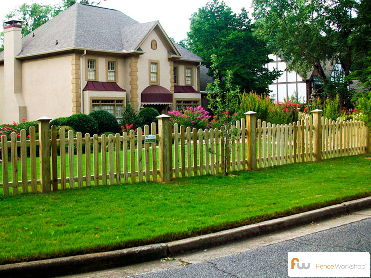 The finley fence workshop for Picket fence cost estimator