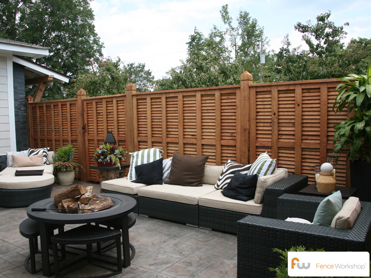 The Pearl Wood Privacy Fence