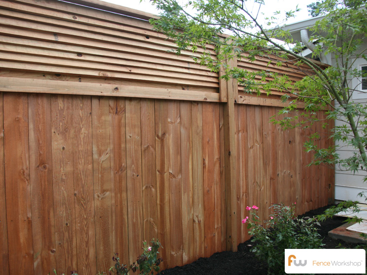The stanton fence workshop for Cheap tall privacy fence