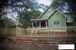 wood picket fences loganville ga