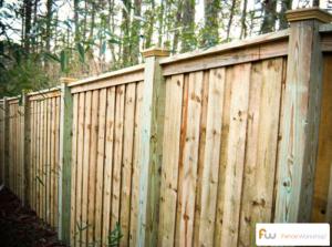Custom Wood Privacy Fences