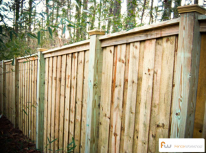 wood privacy fences loganville georgia