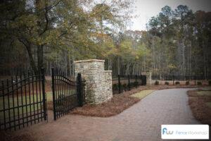 Wrought Iron Fence Atlanta