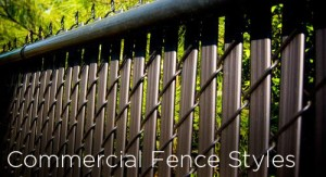 commercial fence styles