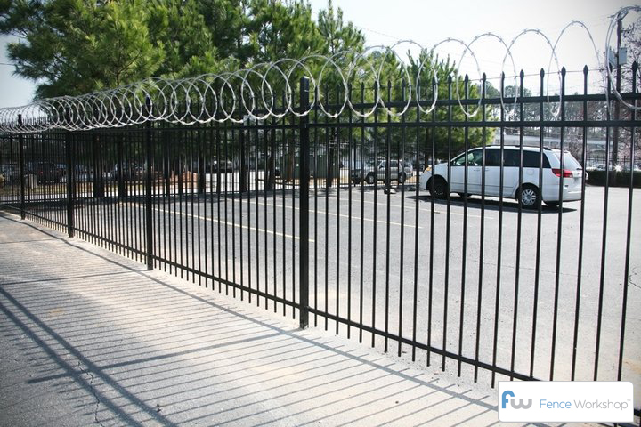 Security Fences Atlanta Fence Workshop