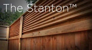 stanton wood privacy fence