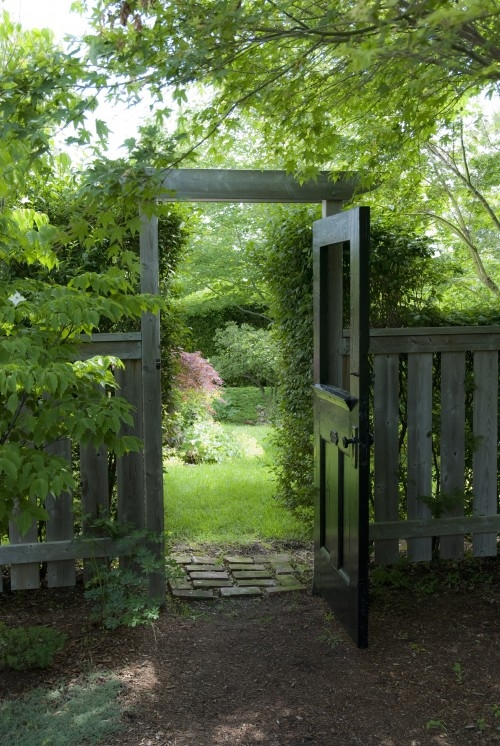 Garden Gate Ideas my new garden gate made from an old screen door Garden Gates Atlanta Ga