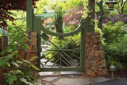 Garden Gate Ideas 20 beautiful garden gate ideas Garden Gate Atlanta Ga