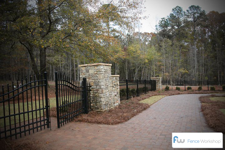 Wrought Iron Fence Atlanta