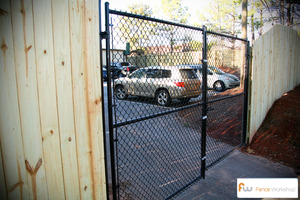 chain link gates raleigh nc fence workshop. Black Bedroom Furniture Sets. Home Design Ideas