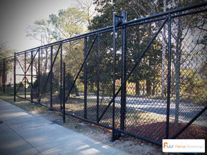 Chain Link Gates Raleigh Nc Fence Workshop