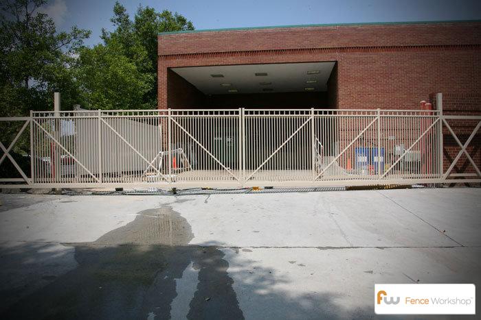 Industrial Aluminum Cantilever Gates