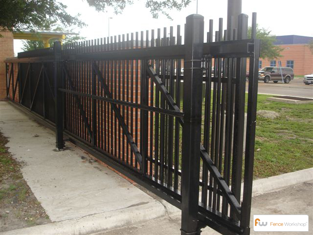 Commercial Gates Atlanta Ga Fence Workshop