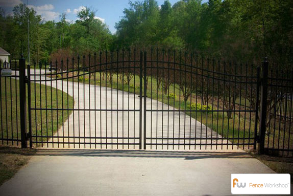 Gate Options Raleigh Nc Fence Workshop