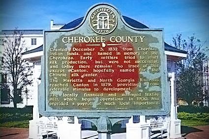 Cherokee County GA