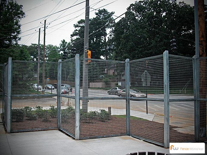 Metal Fencing Fence Workshop