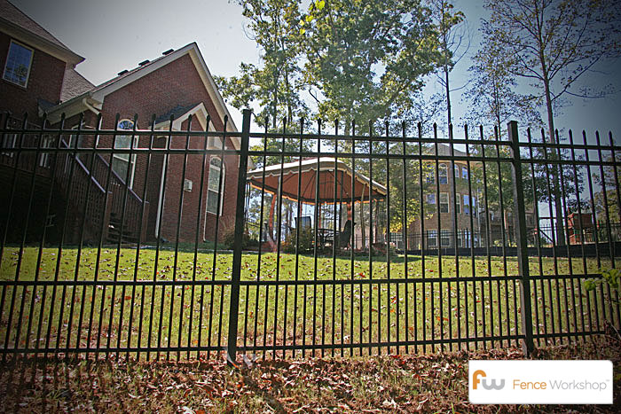 Residential Metal Pet Fence