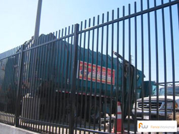 Commercial Metal Fence