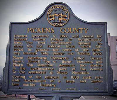 Pickens County GA
