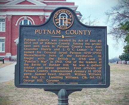 Putnam County GA