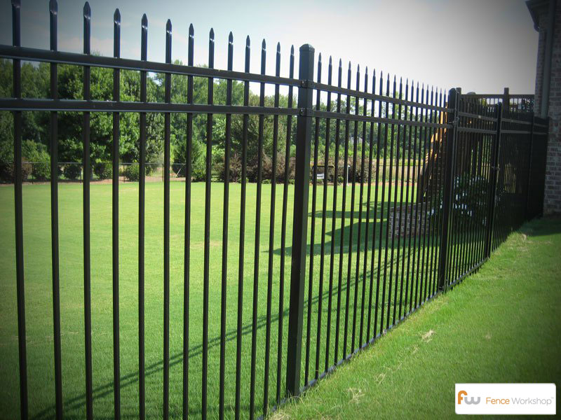 Residential Metal Fencing