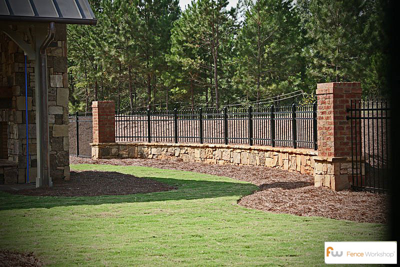 Custom Metal Residential Fence