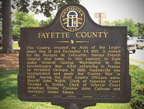 Fayette County GA