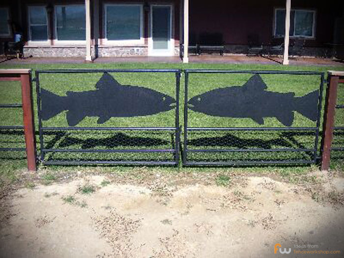 Residential Fish Fence