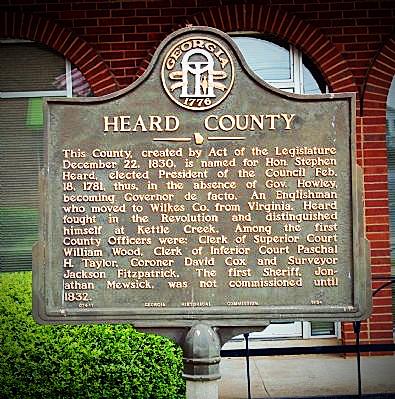 Heard County GA