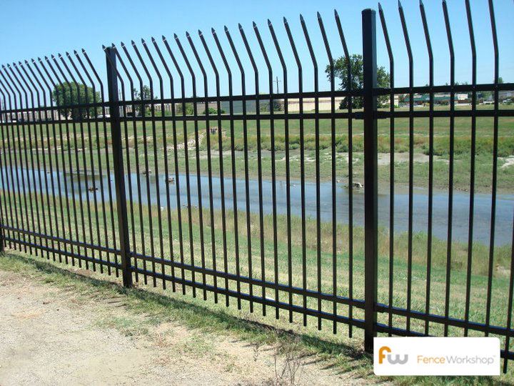 Commercial Metal Security Fence