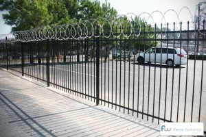 security fences metal